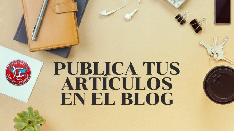 Publica tus artículos